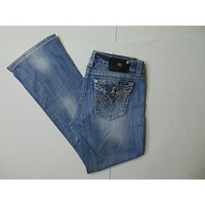 Miss Me 29 X 32 Easy Boot Blue Jeans Denim